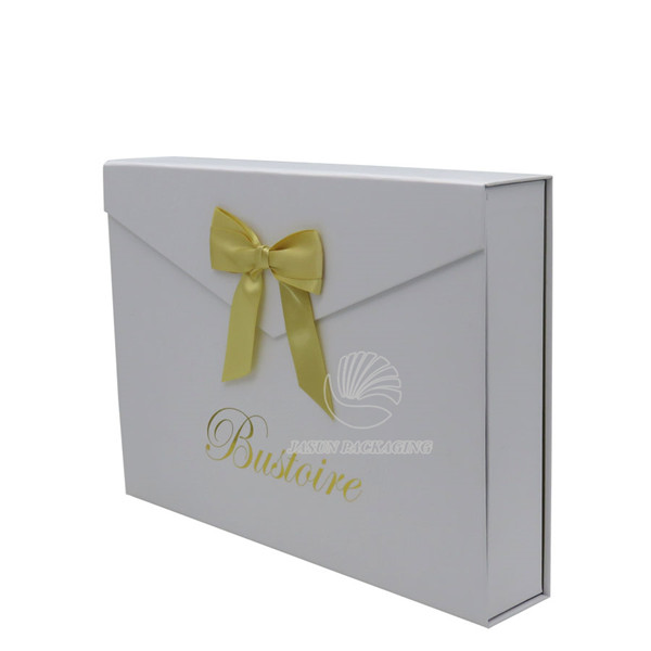 Gift Box luxury Silk Wedding Invitation Box