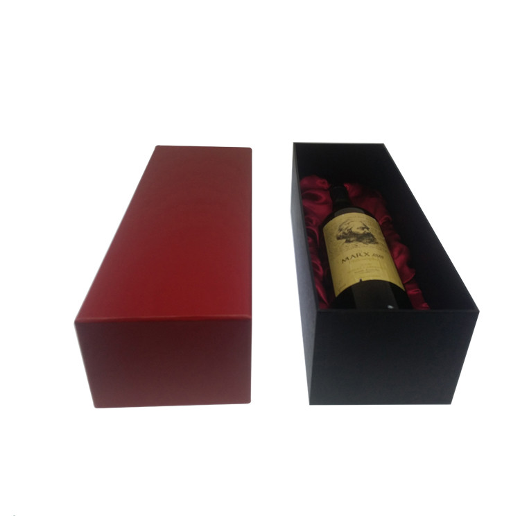 High end bottle wine cardboard paper wine