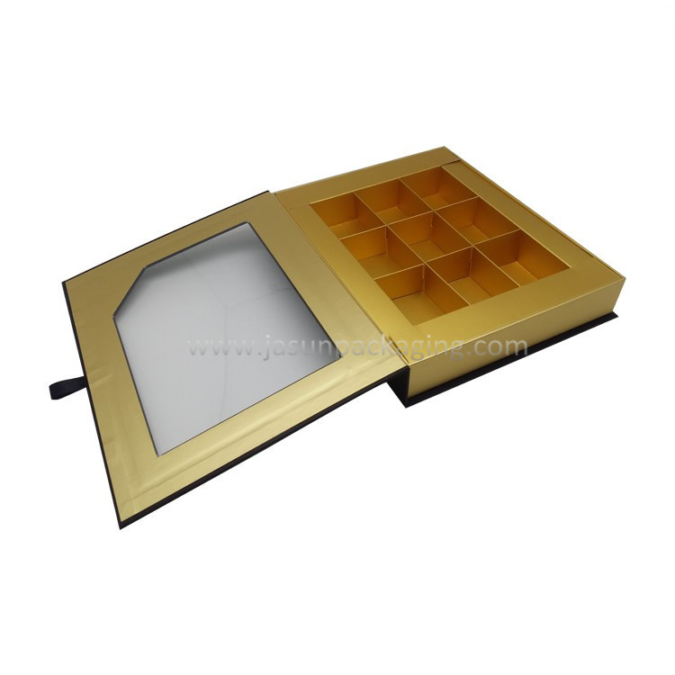 Clear Window Invisible Magnetic Box With Paper